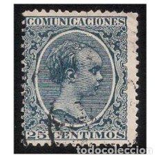 Sellos: ESPAÑA 1889-99. EDIFIL 221. ALFONSO XIII, TIPO PELÓN. USADO. Lote 147345522