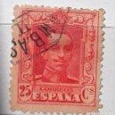 Sellos: ESPAÑA 1922 SELLO º ALFONSO XIII 25C USADO, CON Nº EN EL DORSO . Lote 147620802