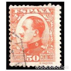 Sellos: ESPAÑA 1930-31. EDIFIL 498. ALFONSO XIII, TIPO VAQUER. USADO. Lote 148553866