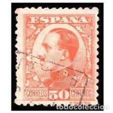 Sellos: ESPAÑA 1930-31. EDIFIL 498. ALFONSO XIII, TIPO VAQUER. USADO. Lote 148554082