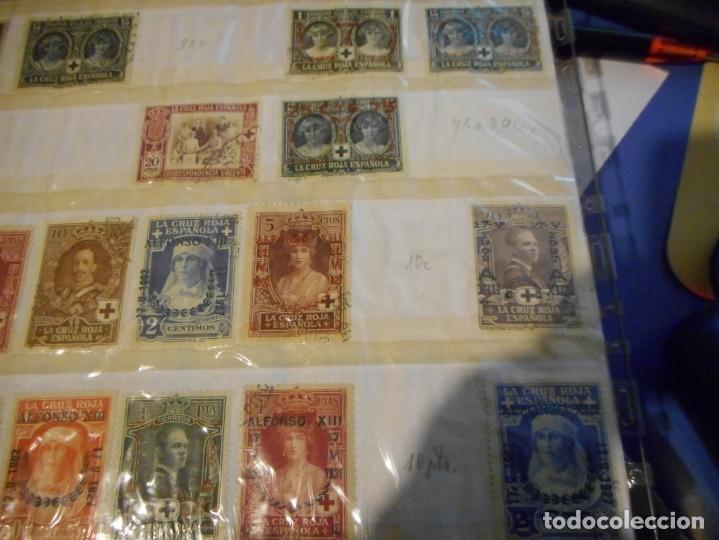 Sellos: lote sello alfonso XIII cruz roja española usados y creo algunos nuevos - Foto 3 - 148598818