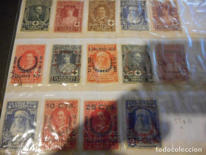Sellos: lote sello alfonso XIII cruz roja española usados y creo algunos nuevos - Foto 4 - 148598818