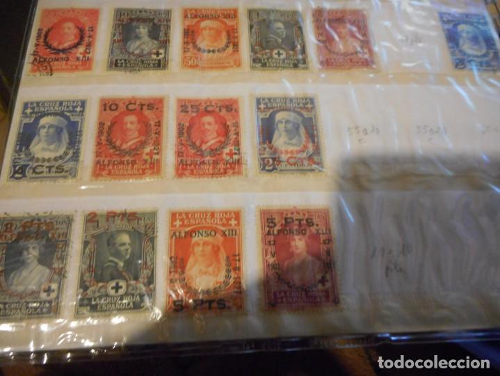 Sellos: lote sello alfonso XIII cruz roja española usados y creo algunos nuevos - Foto 5 - 148598818