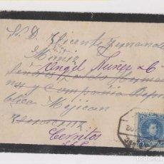 Sellos: SOBRE A MÉXICO. 1902. AMBULANTE ASCENDENTE. Lote 149605358