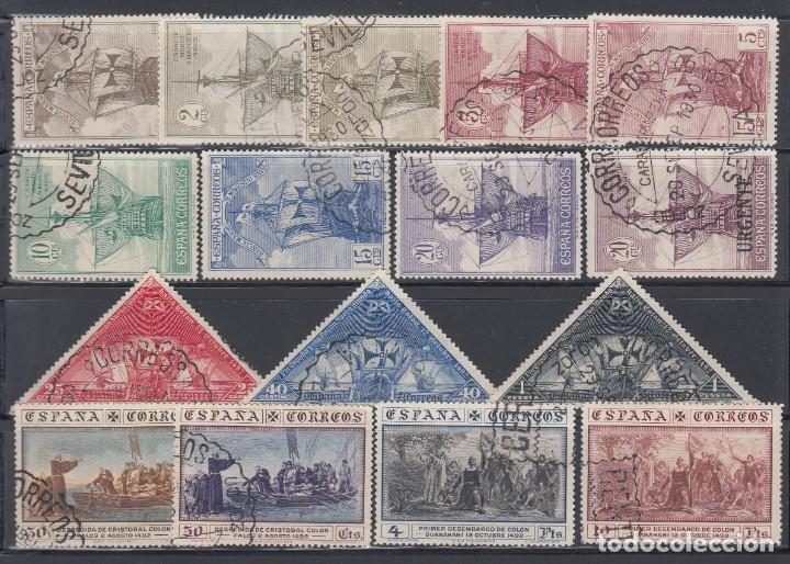 ESPAÑA, 1930 EDIFIL Nº 531 / 546 (Sellos - España - Alfonso XIII de 1.886 a 1.931 - Usados)