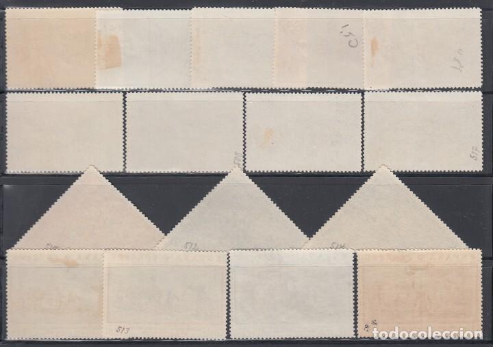 Sellos: ESPAÑA, 1930 EDIFIL Nº 531 / 546 - Foto 2 - 149634690
