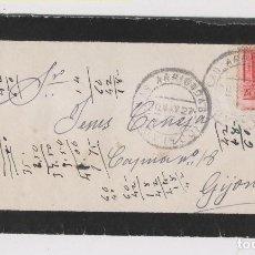 Sellos: SOBRE DE ARRIONDAS, ASTURIAS. 1927. Lote 150499294