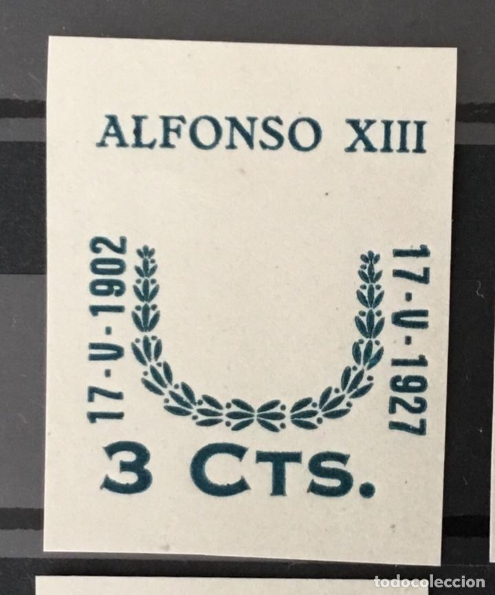 Sellos: 1927-España Juego improntas sobrecargas Cruz Roja Terrestre Edifil 373/87 Galvez 2215/17 y 2221/26 - Foto 2 - 151085490