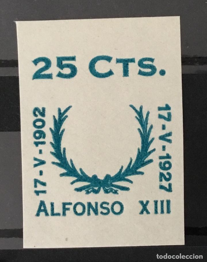 Sellos: 1927-España Juego improntas sobrecargas Cruz Roja Terrestre Edifil 373/87 Galvez 2215/17 y 2221/26 - Foto 4 - 151085490