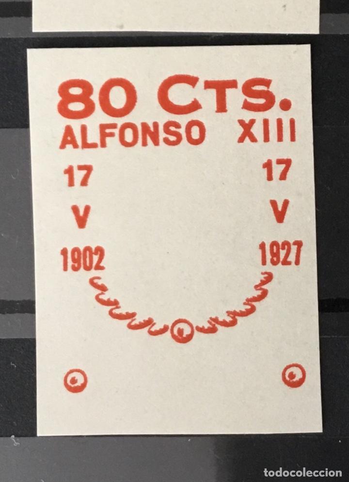 Sellos: 1927-España Juego improntas sobrecargas Cruz Roja Terrestre Edifil 373/87 Galvez 2215/17 y 2221/26 - Foto 6 - 151085490
