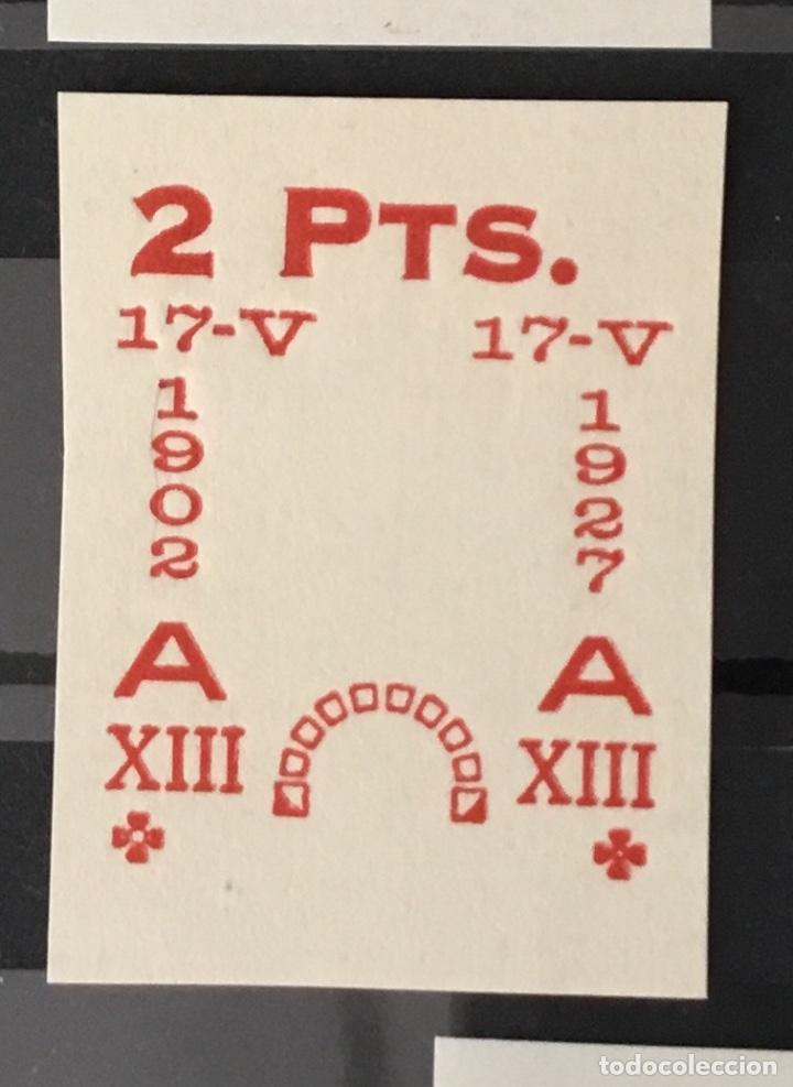 Sellos: 1927-España Juego improntas sobrecargas Cruz Roja Terrestre Edifil 373/87 Galvez 2215/17 y 2221/26 - Foto 7 - 151085490
