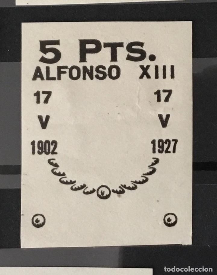Sellos: 1927-España Juego improntas sobrecargas Cruz Roja Terrestre Edifil 373/87 Galvez 2215/17 y 2221/26 - Foto 8 - 151085490