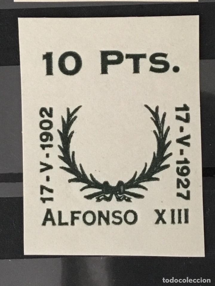 Sellos: 1927-España Juego improntas sobrecargas Cruz Roja Terrestre Edifil 373/87 Galvez 2215/17 y 2221/26 - Foto 9 - 151085490