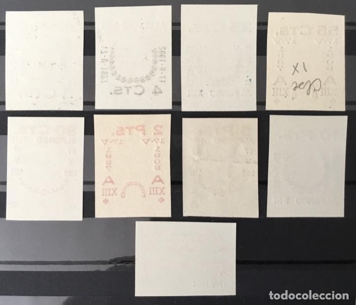 Sellos: 1927-España Juego improntas sobrecargas Cruz Roja Terrestre Edifil 373/87 Galvez 2215/17 y 2221/26 - Foto 11 - 151085490