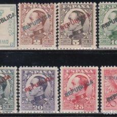 Sellos: EMISIONES LOCALES REPUBLICANAS, MADRID 1931 EDIFIL Nº 1 / 8 /*/. Lote 151332238