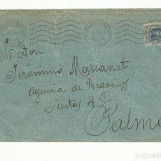 Sellos: CIRCULADA 1924 DE PALMA A PALMA DE MALLORCA BALEARES. Lote 152099578