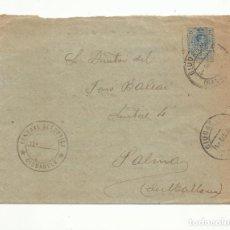Sellos: FRONTAL CIRCULADA 1922 DE CENTRAL ELECTRICA CIUDADELA A PALMA DE MALLORCA BALEARES. Lote 152100574