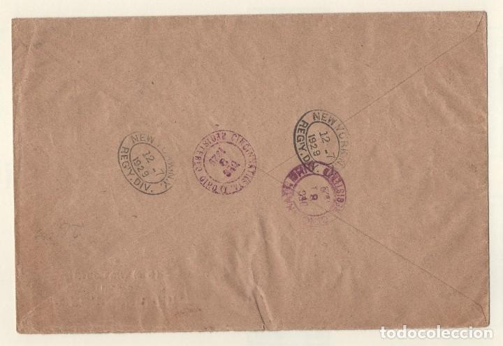 Sellos: ESPAÑA=PRECIOSA CARTA CON SELLOS DE CINCO EMISIONES DISTINTAS DE ALFONSO XIII_VER FOTOS - Foto 2 - 154200982