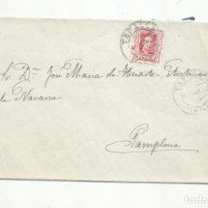 Sellos: CIRCULADA 1930 DE TAFALLA A PAMPLONA NAVARRA . Lote 154356486