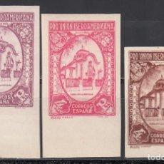 Sellos: ESPAÑA, 1930 EDIFIL Nº 579, COLORES CAMBIADOS, SIN DENTAR, . Lote 155702706