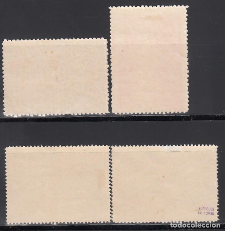 Stamps: ESPAÑA, 1930 EDIFIL Nº 566, 568, 571, 578, COLORES CAMBIADOS, - Foto 2 - 155703158