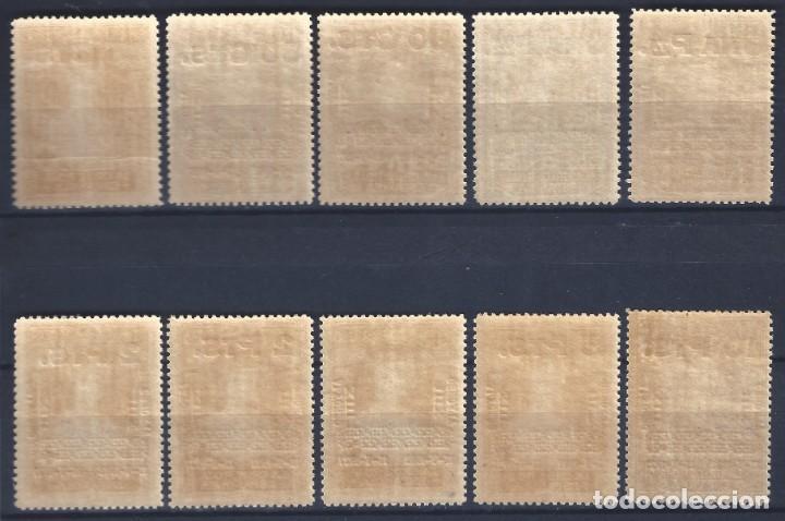 Briefmarken: EDIFIL 392-401 XXV ANIVERSARIO DE LA CORONACIÓN DE ALFONSO XIII (SERIE COMPLETA). MNH ** - Foto 2 - 155756170