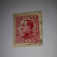 Sellos: SELLO 25 CENTIMOS ALFONSO XIII. Lote 156505422