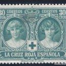 Sellos: EDIFIL 332 PRO CRUZ ROJA ESPAÑOLA 1926. VALOR CATÁLOGO: 66 €. MH *. Lote 156968926