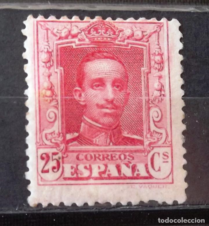EDIFIL 317, NUEVO, SIN CH. ¿RE ENGOMADO? ALFONSO XIII. (Sellos - España - Alfonso XIII de 1.886 a 1.931 - Nuevos)