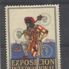 Selos: EPOSICION INTERNACIONAL DE BARCELONA 1929 NUEVO*. Lote 157434786
