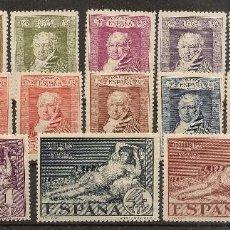Sellos: ESPAÑA EDIFIL 499/516* MH QUINTA DE GOYA SERIE COMPLETA 1930 NL1532. Lote 158719918