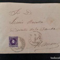 Sellos: CIRCULADA 1907 DE INCA A MANACOR BALEARES VER FOTO. Lote 158808022