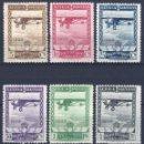 Sellos: EDIFIL 448-453 PRO EXPOSICIONES DE SEVILLA Y BARCELONA 1929 (SERIE COMPLETA). LUJO.CAT: 315 €.MNH **. Lote 159832602