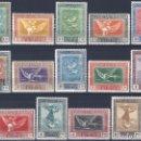Sellos: EDIFIL 517-530 QUINTA DE GOYA EN LA EXPOSICIÓN DE SEVILLA 1930 (SERIE COMPLETA). MLH.. Lote 159860674