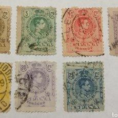 Selos: SELLOS ALFONSO XIII 1909-22 NUM 267, 268, 269, 270, 271, 273 Y 274. Lote 160445612