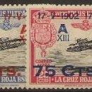 Sellos: ESPAÑA EDIFIL 388/391* MH JURA CONSTITUCIÓN SERIE COMPLETA 1927 NL1437. Lote 160529022