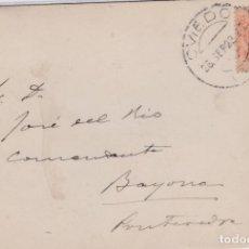 Sellos: TARJETA CON SELLO 271 MATASELLO FECHADOR DE OVIEDO 28 SEPTIEMBRE 1923. Lote 161451154
