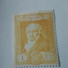Sellos: SELLO ESPAÑA 1930 - EDIFIL 499 CON FIJASELLOS - SPAIN 1930 MH - GOYA NUEVO. Lote 162023341