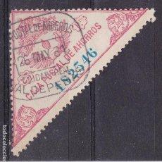 Selos: NN16-FISCALES CAJA POSTAL FORMATO GRANDE 25 PTAS USADO VALDEPEÑAS CIUDAD REAL. Lote 162647230