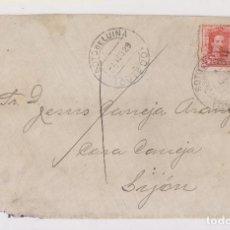Timbres: SOBRE. SOTO DE LUIÑA A GIJÓN, ASTURIAS. 1929. RARO FECHADOR. . Lote 163585382