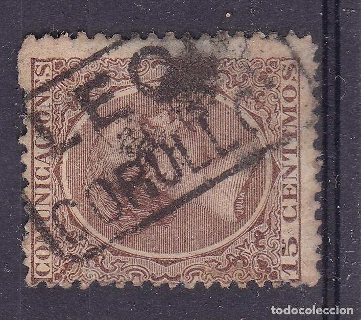 VV15-ALFONSO XIII PELÓN MATASELLOS CARTERÍA CORULLÓN LEÓN (Sellos - España - Alfonso XIII de 1.886 a 1.931 - Usados)