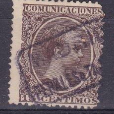 Sellos - VV16-Alfonso XIII Pelón Matasellos Cartería PERALES DE TAJUÑA Madrid - 164370266