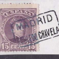 Sellos - VV16-Alfonso XIII Cadete Matasellos Cartería ROBLEDO de CHAVELA Madrid - 164370882