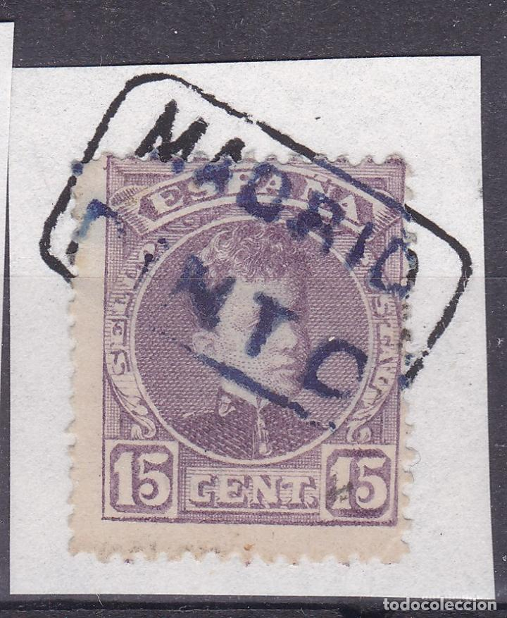VV16-ALFONSO XIII CADETE MATASELLOS CARTERÍA PINTO MADRID (Sellos - España - Alfonso XIII de 1.886 a 1.931 - Usados)
