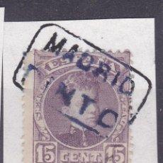 Sellos - VV16-Alfonso XIII Cadete Matasellos Cartería PINTO Madrid - 164371294