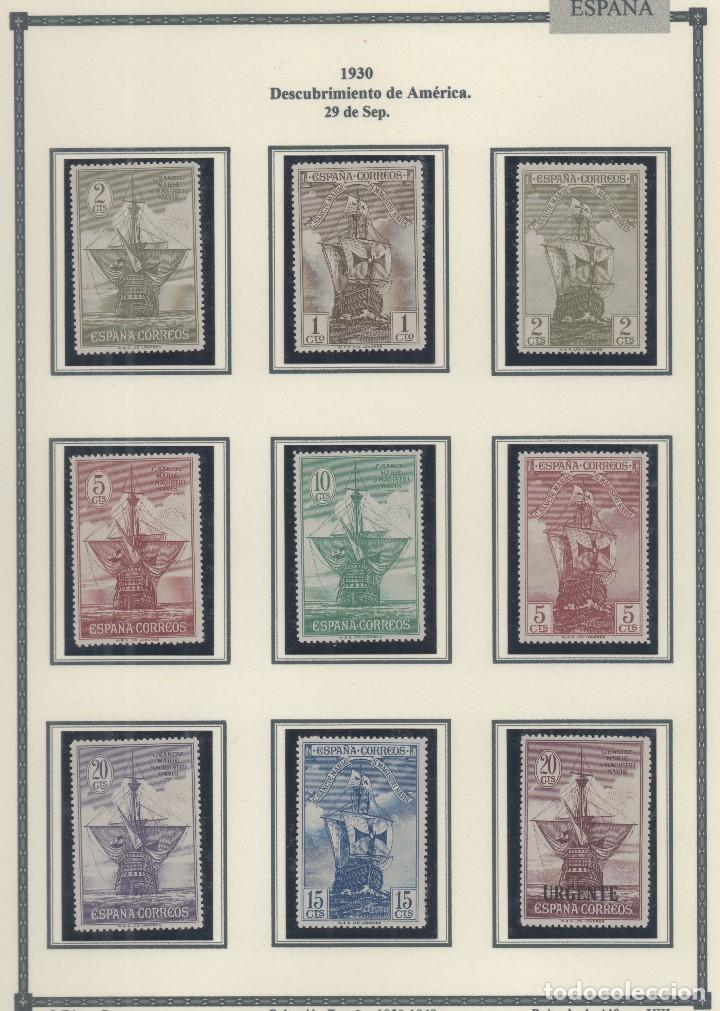 ESPAÑA=EDIFIL Nº 531/46_DESCUBRIMIENTO DE AMERICA_VER FOTOS (Sellos - España - Alfonso XIII de 1.886 a 1.931 - Nuevos)
