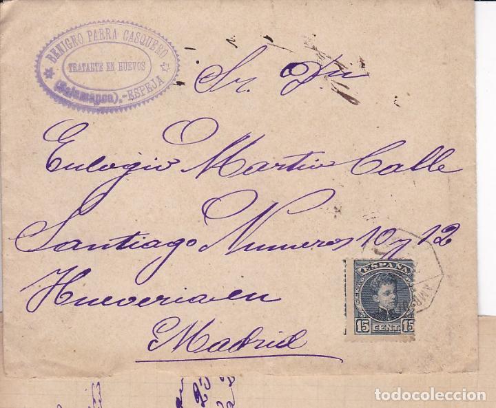 F2-52- CARTA- ESPEJA (SALAMANCA) 1902. CON TEXTO (Sellos - España - Alfonso XIII de 1.886 a 1.931 - Cartas)