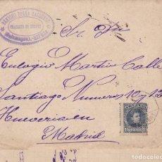 Sellos: F2-52- CARTA- ESPEJA (SALAMANCA) 1902. CON TEXTO. Lote 165665350