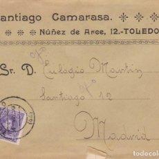 Francobolli: HP5-17- CARTA COLONIALES TOLEDO 1908. CON TEXTO. Lote 165674118