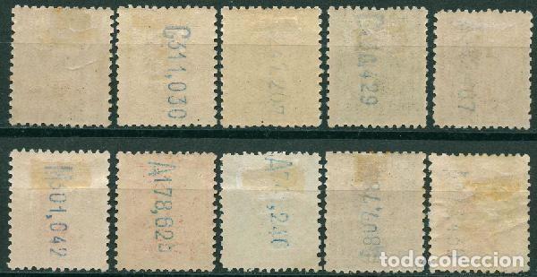 Sellos: España 190-1931 - Edifil 490/98, 497A MH - Alfonso XIII. Tipo Vaquer de Perfil - Foto 2 - 166416738